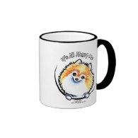 Pomeranian IAAM Mugs