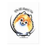 Pomeranian IAAM Postcards