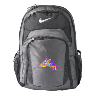 Pomeranian in Colors Nike Backpack