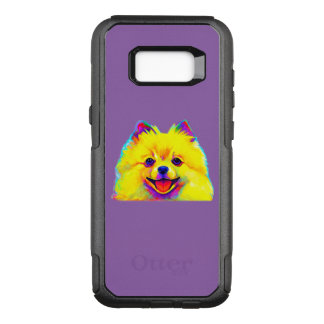 Pomeranian in Colors OtterBox Commuter Samsung Galaxy S8+ Case