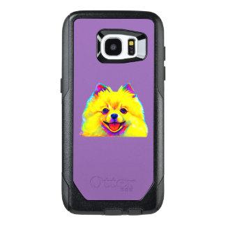 Pomeranian in Colors OtterBox Samsung Galaxy S7 Edge Case