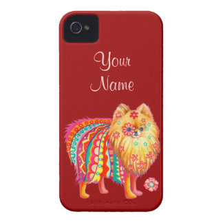 Pomeranian iPhone 4/4S Case-Mate Barely There Case