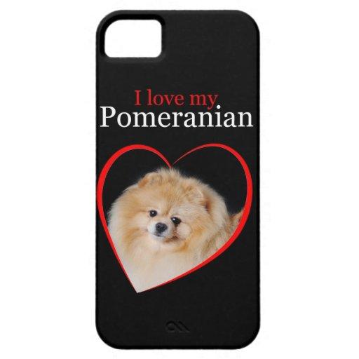 Pomeranian iPhone 5 Case