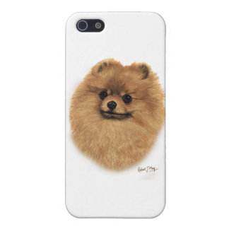 Pomeranian iPhone 5 Protectores