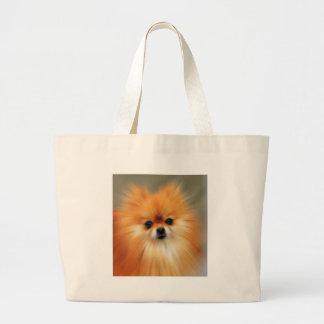 Pomeranian Large Tote Bag