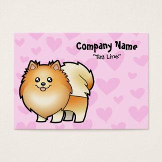 Pomeranian Love Business Card