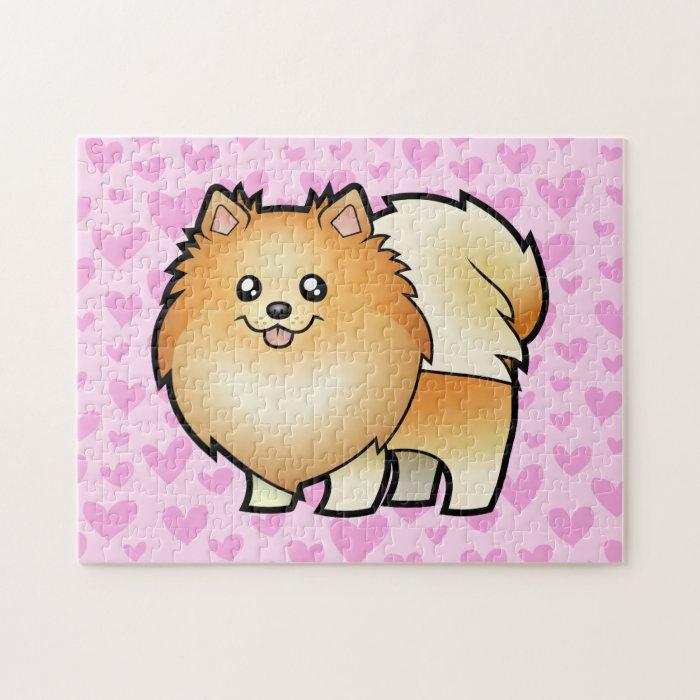 Pomeranian Love Jigsaw Puzzle