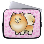 Pomeranian Love Laptop Computer Sleeves