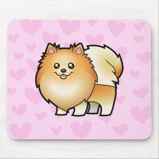 Pomeranian Love Mouse Pad