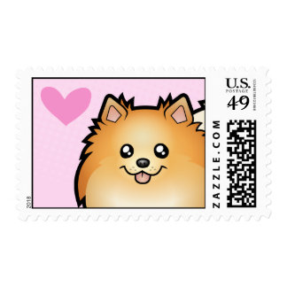 Pomeranian Love Postage