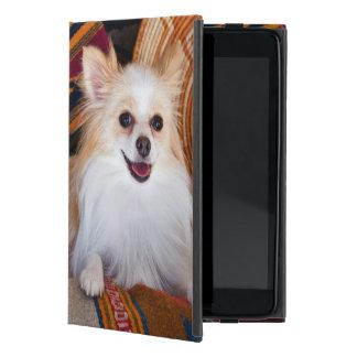 Pomeranian Lying On Blankets Cover For iPad Mini