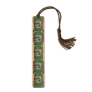 Pomeranian Wood Bookmark