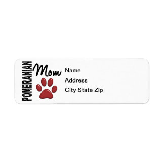 Pomeranian Mom 2 Label
