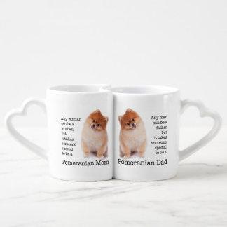 Pomeranian Mom and Dad Mugs