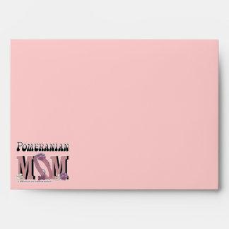 Pomeranian MOM Envelopes