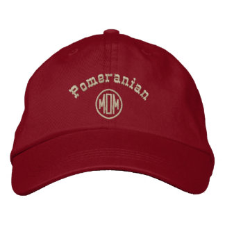 Pomeranian Mom Gifts Embroidered Baseball Cap