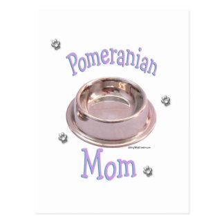 Pomeranian Mom Postcard