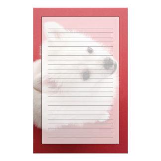 Pomeranian on the Red Carpet Custom Stationery