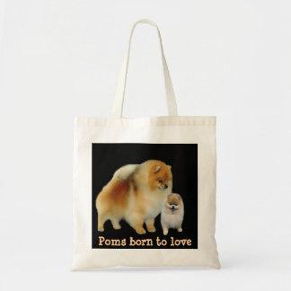 Pomeranian Pals Tote Bag