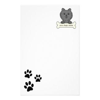 Pomeranian personalizado personalized stationery