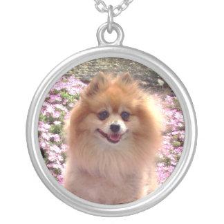 Pomeranian Pink Necklace
