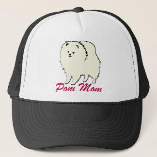 Pomeranian Pom Mom Trucker Hat