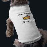 """Pomeranian Princess Dog Clothing<br><div class=""""desc"""">Pomeranian Princess custom dog clothing.</div>"""