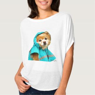Pomeranian Raincoat #1 T Shirt