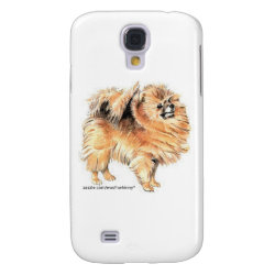 Case-Mate Barely There Samsung Galaxy S4 Case with Pomeranian Phone Cases design