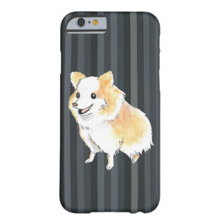 Pomeranian Sitting Watercolour Barely There iPhone 6 Case
