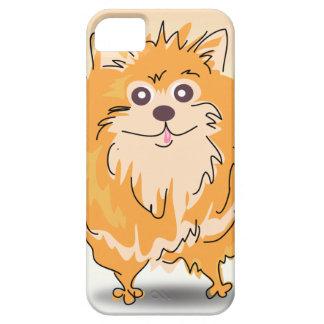 Pomeranian Spitz Dog Art iPhone SE/5/5s Case