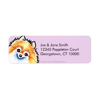 Pomeranian Thistle Label