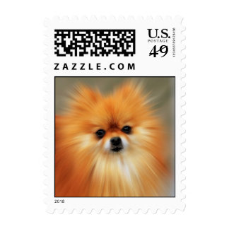 Pomeranian Timbres Postales
