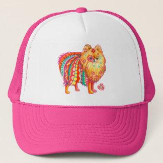 Pomeranian Trucker Hat