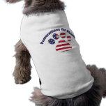 Pomeranians para Obama.png Camisetas Mascota