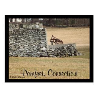Pomfret, Connecticut Postcard
