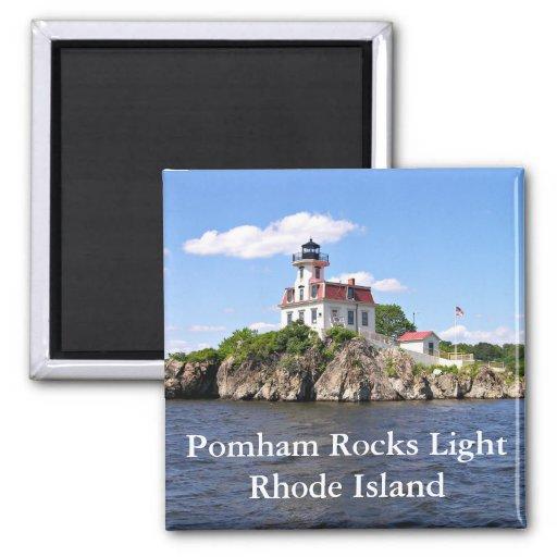 Pomham oscila la luz, imán de Rhode Island