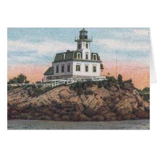 Pomham Rocks Lighthouse Card