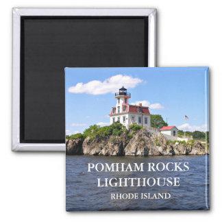 Pomham Rocks Lighthouse, Rhode Island Magnet
