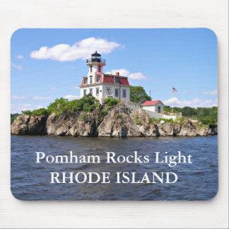 Pomham Rocks Lighthouse, Rhode Island Mousepad