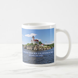Pomham Rocks Lighthouse, Rhode Island Mug