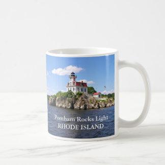 Pomham Rocks Lighthouse, Rhode Island Mug