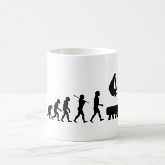 Pommel Horse Gymnastics Evolution Sports Coffee Mug