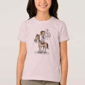 Pommel Horse Gymnastics Girls T-Shirt