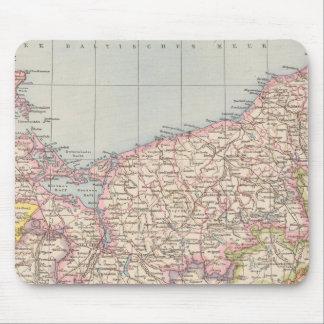 Pommern Atlas Map Mouse Pad