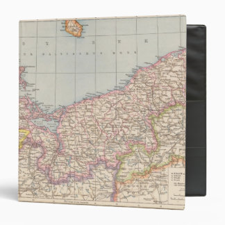Pommern Atlas Map Vinyl Binder