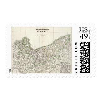 Pommern Postage Stamp