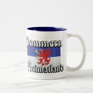 Pommern Taza Dos Tonos