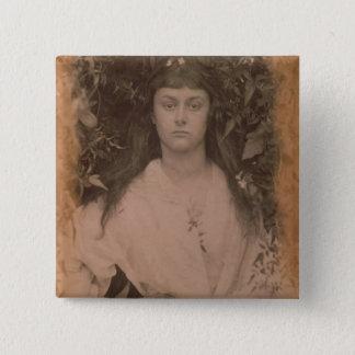 Pomona, 1872 (b/w photo) pinback button