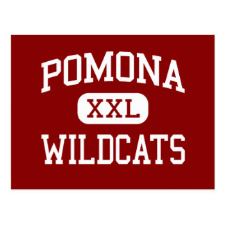 Pomona - gatos monteses - escuela secundaria - tarjeta postal